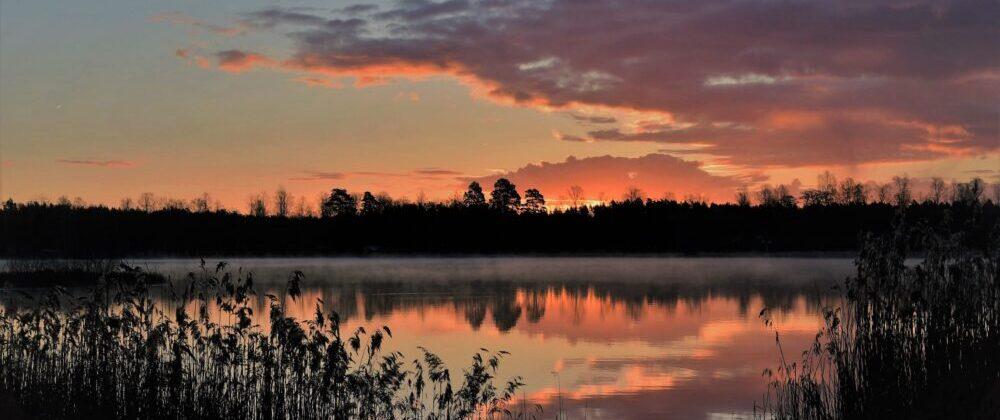 Vädret i Fågelfors, Småland.